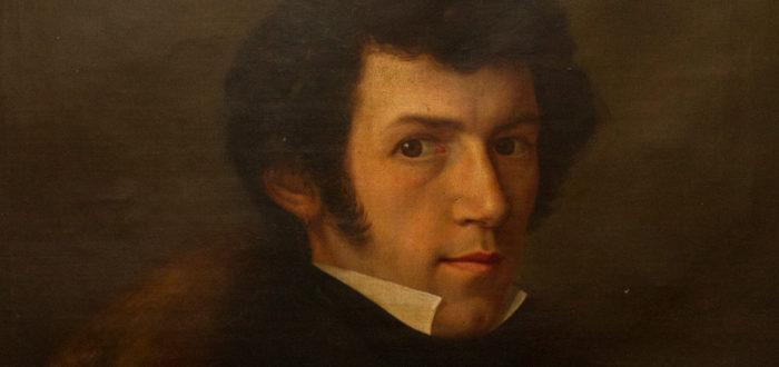 Selbstportrait Charles Mutzbauer ca. um 1850