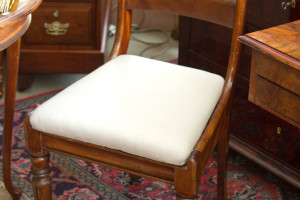1 Stuhl England Victorianisch um 1880 Mahagoni