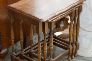 3-Satz-Tische Eiche