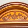 Glasschrank (Vitrine) Historismus um 1880 Obstholz