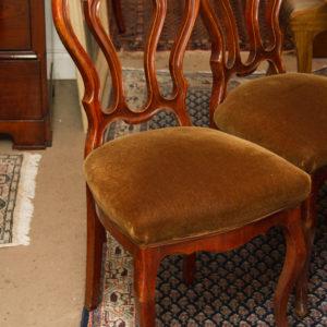 Satz von 6 Stühlen Louis Philippe je Stuhl €190,00