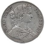 Silbermünze,VEREINSTHALER, Doppelthaler, Thaler, Reichsmark, Mark, Preussen