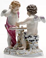 Ankauf von Meissen Porzellan wie Figuren, Geschirr, Objekte, 17. - 20. Jhdt